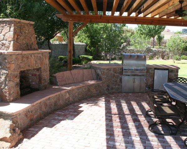 Landscaping Gravel El Paso Tx : El paso custom iron works landscape landscaping ideas tx
